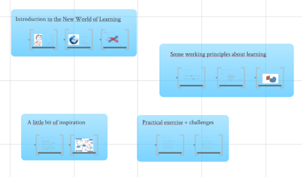 prezi ppt structure with frames